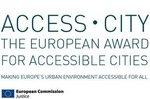 Logo Access City Award.